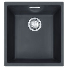 FRANKE Sid 110-34  Bowl Undermount Tectonite Onyx Sink Pop-Up Waste & Overflow