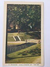 Vue Du Parc Cap-De-La Madeleine Quebec Canada Park View Vintage Postcard A12