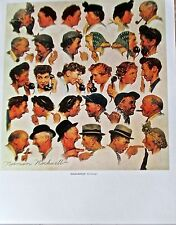 Norman Rockwell The Gossips 14x11 Offset Lithograph Unsigned