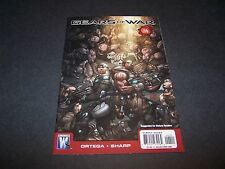 GEARS OF WAR #4 XBOX360 GAME COMIC 2 3 MARCUS FENIX CRIMSON OMEN DOM SANTIAGO
