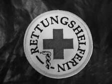 Rettungshelferin Rundemblem Emblem  Aufnäher