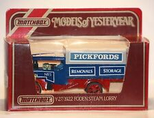 Matchbox-Models of Yesteryear Y-27/1922 Foden Steam Lorry-old Truck-New-Neu