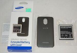 NEW OEM Samsung Galaxy Nexus 2100mAh Extended Battery + Cover Door SCH-i515 L700