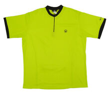 Canari Cruiser Cycling Jersey Mens Medium M MD Short Sleeve Lime Green  runs big