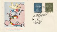 ITALY 19 SEPTEMBER 1959 EUROPA UNADDRESSED ILLUSTRATED FIRST DAY COVER CDS
