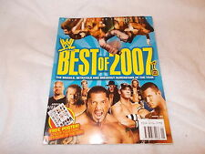 WWE Wrestling Magazine Best of 2007 January 2008