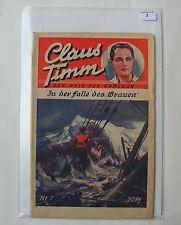 Claus Timm (Freya, Vorkrieg) Nr. 7 (Z2)