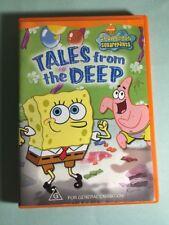 SPONGEBOB SQUAREPANTS Tales From the Deep DVD- -Get it Fast!