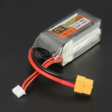 ZOP Power 11.1V 1800mAh 65C 3S Lipo Battery XT60 Plug For RC Helicopter Airplane