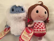 Hallmark Itty Bitty Bittys Bumble Misfit Doll Lot Of 2 Island Of Misfit Toys New