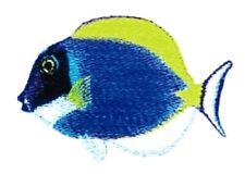 Embroidered Long-Sleeved T-Shirt - Powder Blue Sturgeon BT3456 Sizes S - XXL