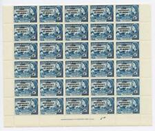Ghana 1957-58 4d blue complete sheet of 60 SG176 MNH cat £390+