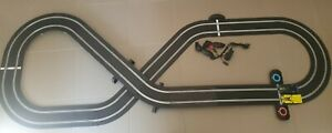 Scalextric AWESOME 'SPORT' SLOT CAR SET WITH 2  CARS SOME NEW SOME USED.