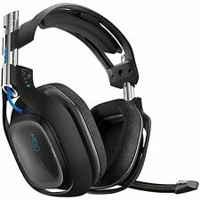 Astro A50 Wireless Black Gaming Headset for Ps4 PlayStation 4 Ps3 PC Mac