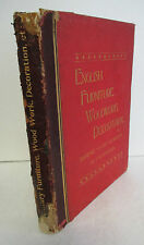 English FURNITURE DECORATION Woodwork & Allied Arts by Thomas Arthur Strange