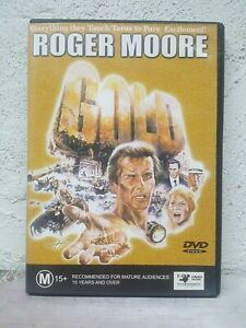 Roger Moore Gold DVD - 1974 Movie - South African Themes