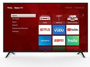 "TCL 32"" Class 720P HD LED Roku Smart TV 3 Series 32S331"