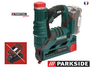PARKSIDE® Agrafeuse sans fil PAT 20-Li A1, 20V Sans Batterie ni Chargeur