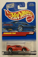 1999 Hotwheels Ferrari F50 Red Rosso Corsa! Very Rare! Mint! MOC!