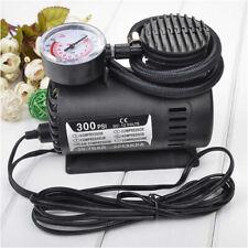 DC 12V Mini Car Electric Air Pump Air Compressor Portable Tire Inflator 300PSI