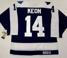 DAVE KEON - size XXL - Toronto Maple Leafs CCM 550 VINTAGE series Hockey Jersey