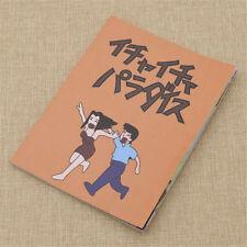 Naruto Anime Kakashi Hatake Jiraiya Notebook Icha Paradaisu Journal 13X17CM