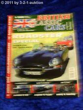 British Classic Cars 5/06 Jaguar S-Type Jensen C V8 Roadster Spezial Jim Clark