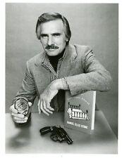 DENNIS WEAVER BADGE AND GUN PORTRAIT STONE ORIGINAL 1979 ABC TV PHOTO