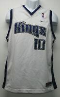 Nike Sacramento Kings #10 Bibby Stitched NBA Basketball Jersey Boys sz XL