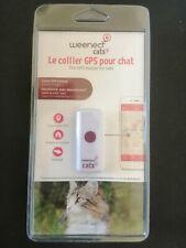 Collier GPS pour Chat Weenect Cats 2 Traqueur Localisation Satellite Dressage