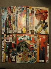 Marvel Comic Books ~ HIGH GRADE LOT OF 23 ~ (1983) BRONZE, COPPER & MODERN AGE