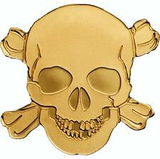 PIRATE SKULL .9999 GOLD COIN Palau 2017 collectible and  gift item