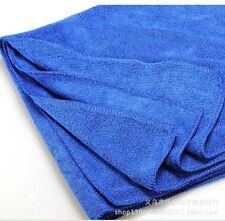 Blue 12PCS Wash Cloth Microfiber Absorbent Towel Car Home Cleaning Wash Towels