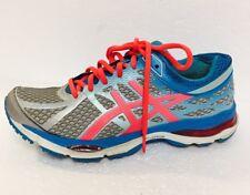 Women's Asics Gel Cumulus 17 Running Shoe (Size 8) In Electric Blue/Pink