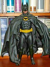 "Hot Toys DX09 BATMAN 12""  1/6 figure 1989 MICHAEL KEATON w/ shipping box"