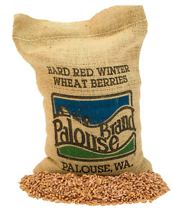 Hard Red Winter Wheat Berries • Non-GMO Project Verified • 5 LBS • 100% Non-Irra
