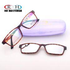 Women Glasses Frame Ultem Optical Eyewear Magnetic Polarized Sunglasses Clip-on