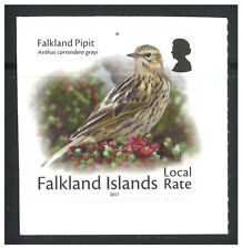 Falkland Islands 2017 Small Birds Pipit Self-adhesive Stamp MUH - Local Rate