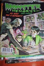 Monster Memories Magazine No 17 - 2009 Yearbook - NEW CONDITION!! RARE!!