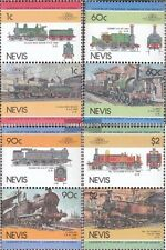 Nevis 260-267 Couples mint never hinged mnh 1985 LocoThematics