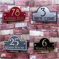 Modern Address Plaque House Signs Door Number Clear Acrylic Name Plate NEW