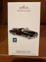 2018 HALLMARK ORNAMENT 1938 BUICK Y-JOB 1st IN THE LEGENDARY CONCEPTS SERIES