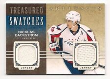 Nicklas Backstrom 14-15 UD Artifacts Treasured Swatches Dual Game Used Jersey