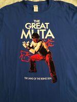 *RARE* Pro Wrestling Crate Exclusive Great Muta Rising Sun T-Shirt Lg NWA WCW