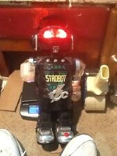 1984 New Bright Laser 3000 Strobot Robot Fully Tested Works Perfectly 4Aa Incl.