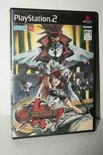 GUILTY GEAR XX THE MIDNIGHT CARNIVAL USATO SONY PS2 ED JAPAN NTSC/J VBC 52379