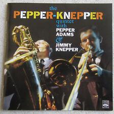 THE PEPPER KNEPPER QUINTET WITH PEPPER ADAMS & JIMMY KNEPPER  CD