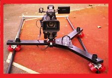 CAMERA TRACKING DOLLY for Broadcast CANON  JVC SONY EX3 RED Arri 4K 8K etc..