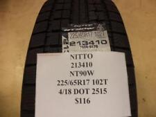 1 NITTO NT90W 225 65 17 102T BRAND NEW TIRE 213410 Q8