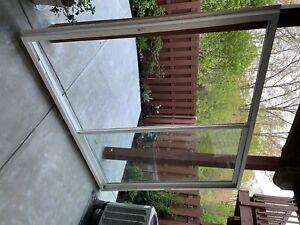 ply Gem vinyl sliding patio door 96 x80 white, new, never installed